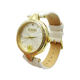 Versus Versace Stainless Steel Ladies Gold White Leather Watch VSPCI3117 - Richard Miles Jewellers