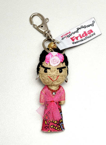 Frida String Doll Keychain