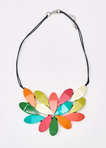 South Pacific Hibiscus Necklace
