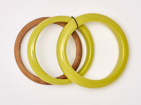 South Pacific Citron Bangles