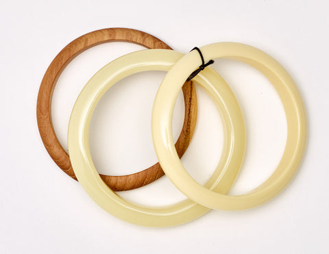 South Pacific Beige Bangles