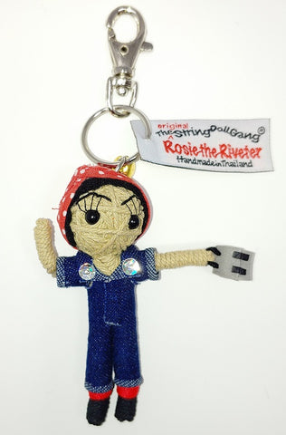 Rosie the Riveter Keychain