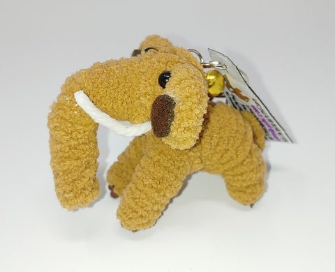 Moe the Woolly Mammoth Keychain