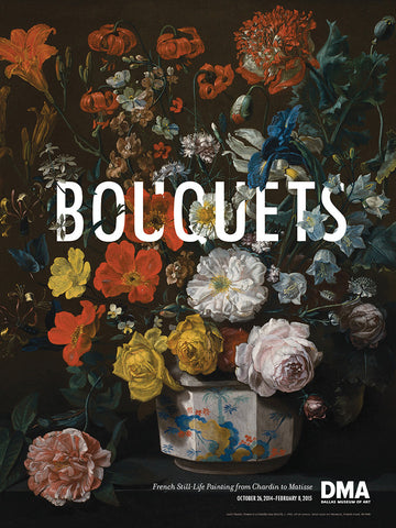Bouquets Exhibition Poster