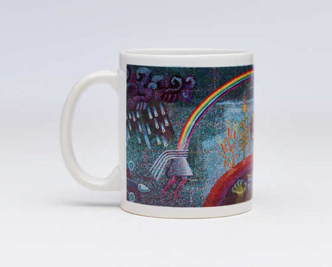 Covarrubias' Genesis, the Gift of Life Mug