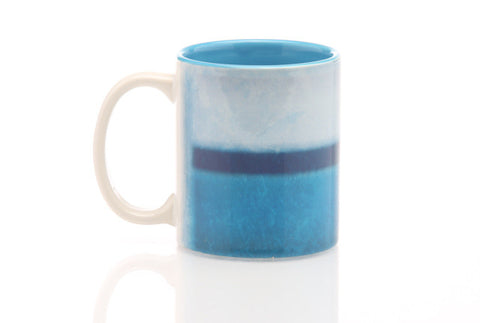 Color Field Light Blue Mug