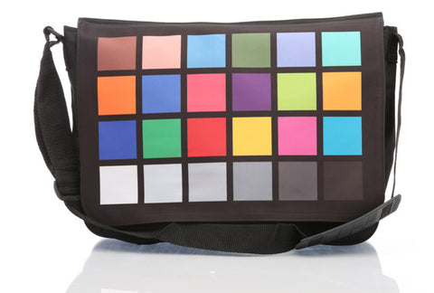 Photography Color Card Messenger Bag
