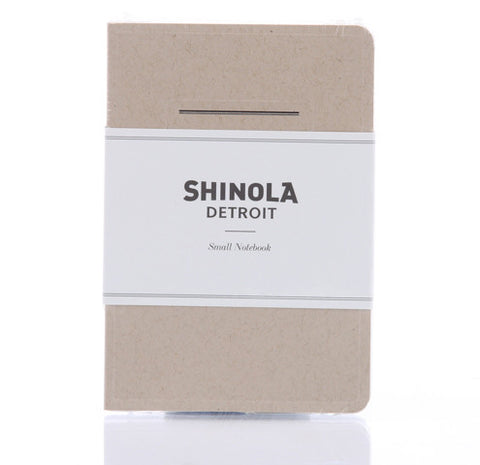 Shinola Small Paper Notebook Kraft
