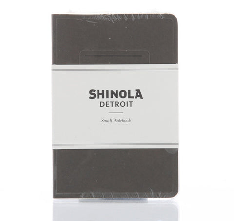 Shinola Small Paper Notebook Gray