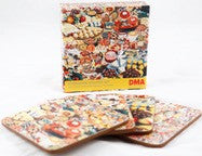 Foodscape Coaster Set