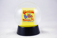 Brillo Box Snow Globe