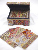 Persian Patterns Notecard Box
