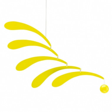 Flowing Rhythm Mobile Yellow