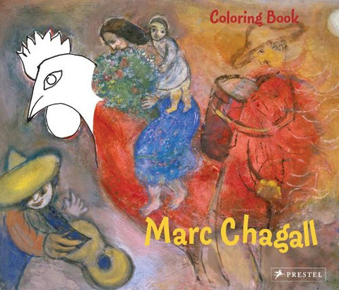 Chagall Coloring Book