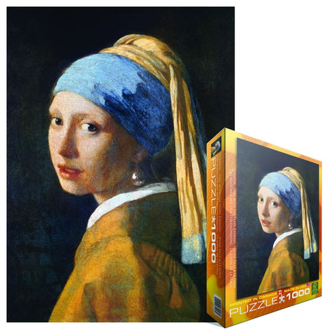 Girl with A Pearl Earring Puzzle - ShopDMA