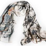 Pollock's Portrait and a Dream Scarf