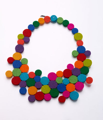 Anemone Multicolor Necklace