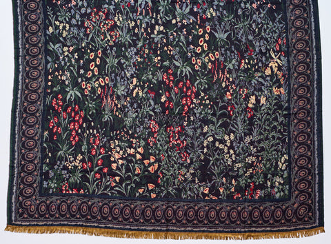 Medieval Millefleurs Throw