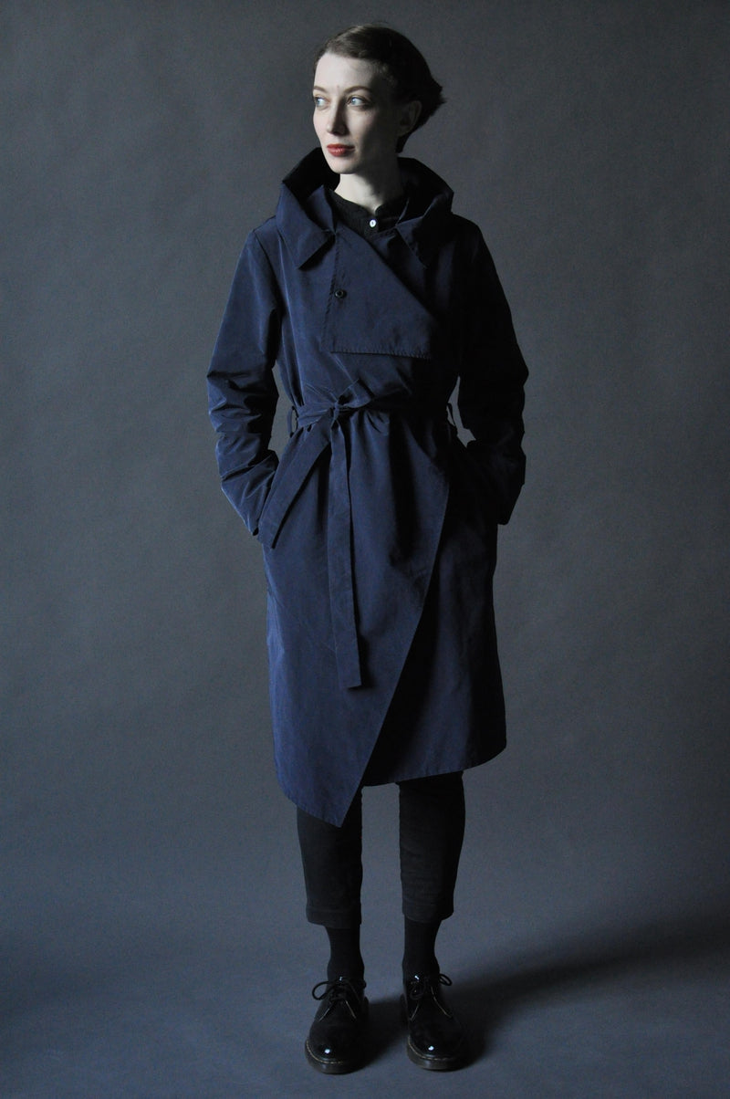 Плащ LargeHood DarkBlue