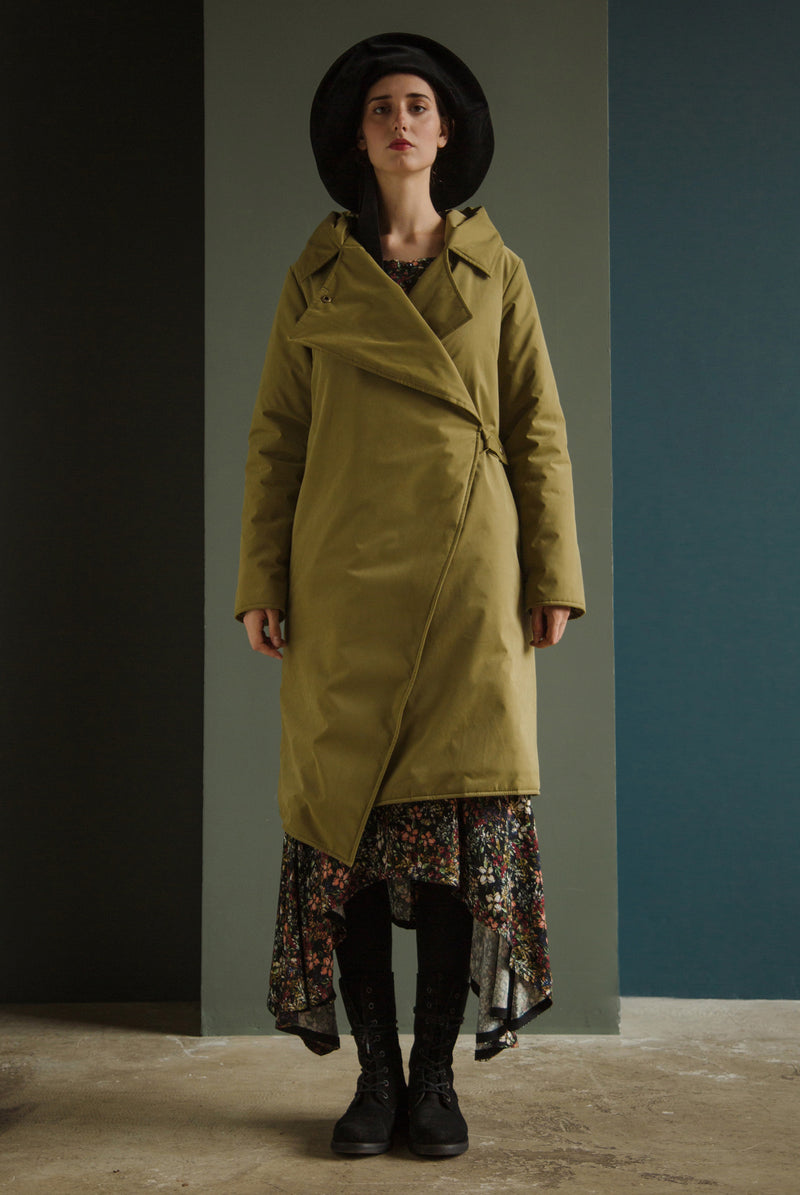 Куртка длинная LargeHood Olive