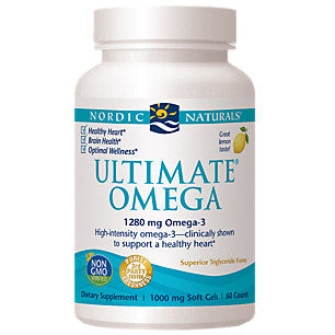 Nordic Naturals - Ultimate Omega, Lemon (60 gels)