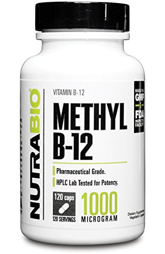 NutraBio - Methyl B-12 (1000mcg)