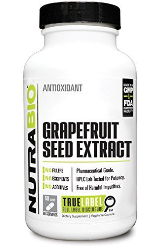 NutraBio - Grapefruit Seed Extract (60 caps)