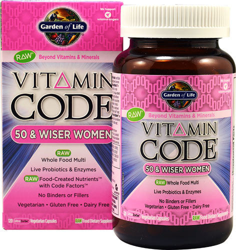 Garden Of Life Vitamin Code Women 50+ 120vc