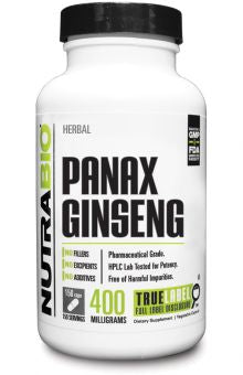 NutraBio - Panax Ginseng (150 count)