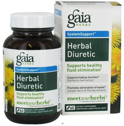 Gaia Herbal Diuretic 60vc