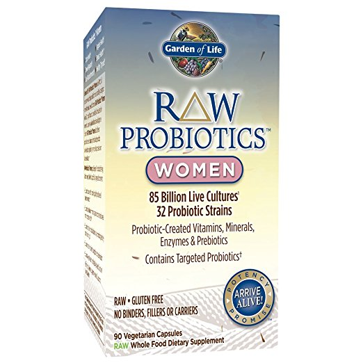 Garden Of Life - Probiotics RAW, Women (90 vegetable capsules)