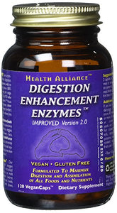 HealthForce - Digestion Enzymes (120 vegan capsules)