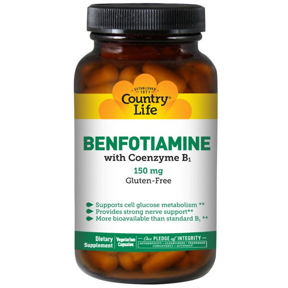 Country Life - Benfotiamine (150mg 60vc)
