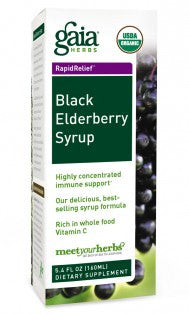 Gaia Black Elderberry 60vc
