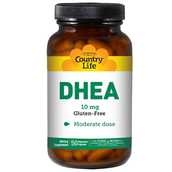 Country Life - DHEA (10mg 50vc)