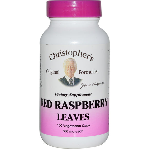 Christopher's - Raspberry Leaf (100cv)