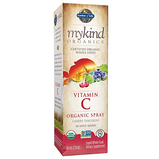 Garden Of Life - myKind Vitamin C Spray, Cherry Tangerine (2 fl oz)