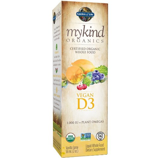 Garden Of Life - myKind Vegan D3 Spray (2 fl oz)