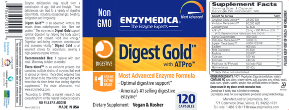 Enzymedica Digest Gold 120c