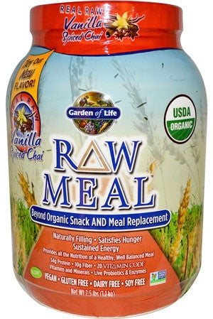 Garden Of Life Raw Meal Vanilla Chai 2.5lbs