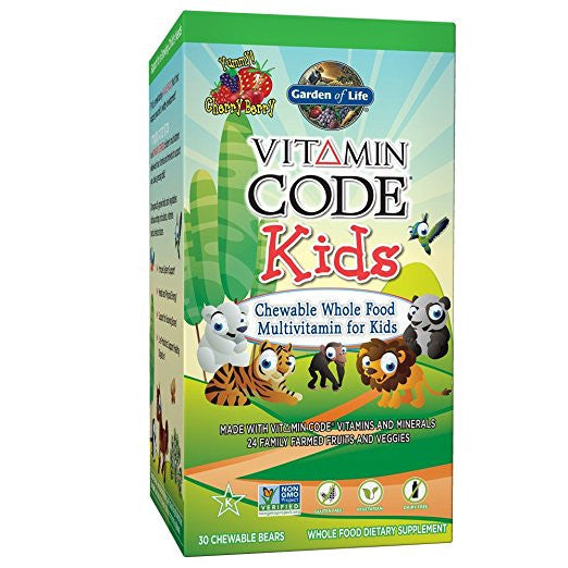 Garden Of Life - Kids (30 chewable bears)