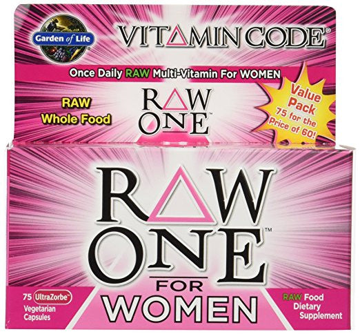 Garden Of Life Raw One For Women 75vc
