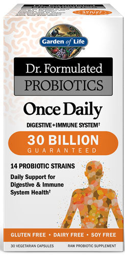Garden Of Life Dr Formulated Once Daily 30 billion 30c