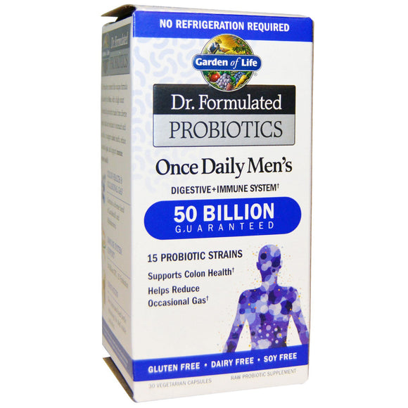 Garden Of Life - Dr. Formulated Probiotic Mens 30c
