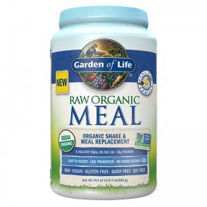 Garden Of Life RAW Organic Meal - Vanilla (34.2 Oz)