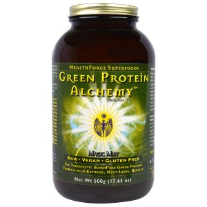 HealthForce Green Alchemy Protein, Mint (500 grams)