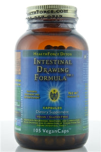 HealthForce - Intestinal Drawing Formula (105 vegetarian capsules)