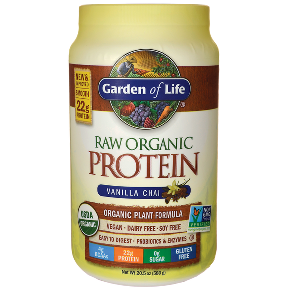 Garden Of Life Raw Protein Vanil Chai 22oz