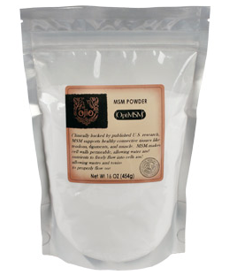 Ojio - MSM Powder (16oz)