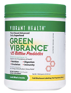 Vibrant Health - Green Vibrance (24.61 oz)